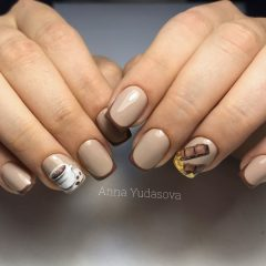 coffee-and-chocolate-bar-nail-art
