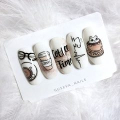 coffee-time-nail-design
