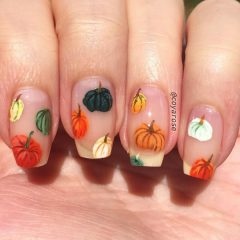 colorful-pumpkins-thanksgiving-nail-art