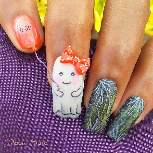 cute-ghost-halloween-nails-boo