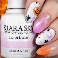 cute-ovel-shaped-halloween-pumpkin-nails