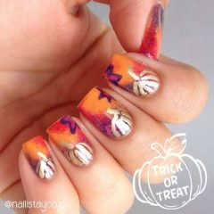 gold-pumpkins-on-nails