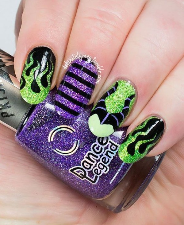 halloween-maleficent-nails