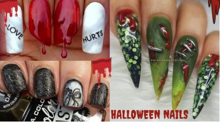 100+ Pictures of 2021's Most Trendy Halloween Nails with How-To Tutorials & Videos