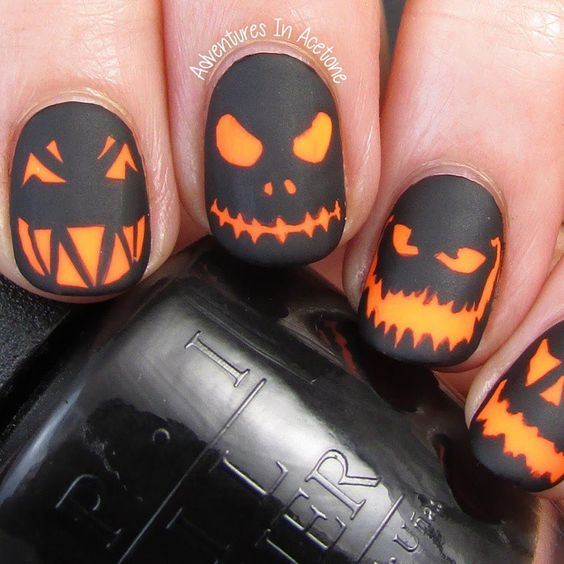 jack-o-lanterns-nails-halloween