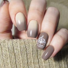 ombre-coffee-nails