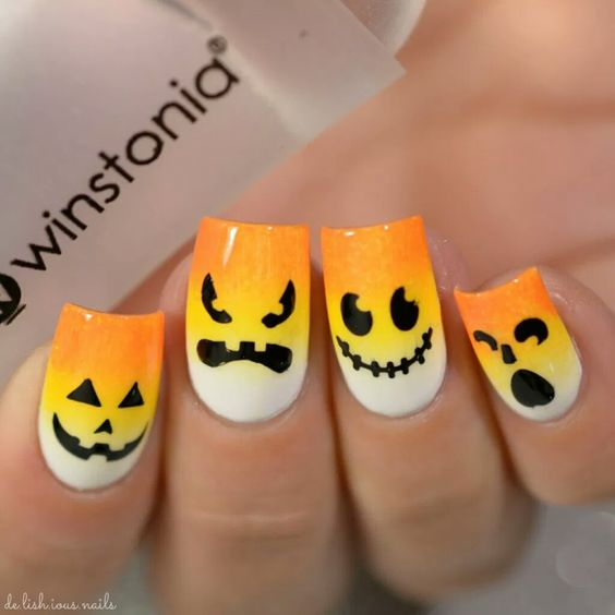 ombre-pumpkin-nails