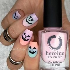 pumpkin-ombre-nails