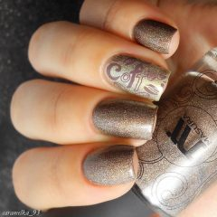 shimmering-coffee-nail-design