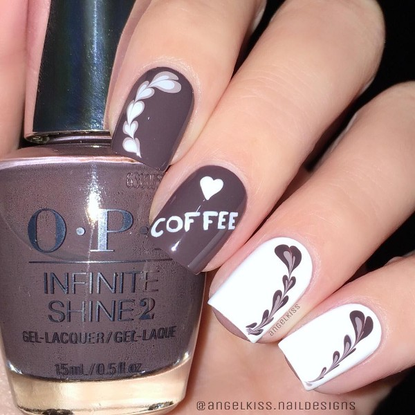 simple-needle-coffee-nail-design