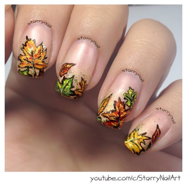 autumn-leaves-nail-art