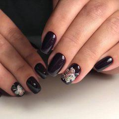 black-fall-nails