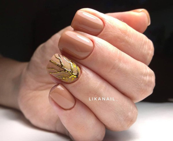 caramel-fall-nail-art