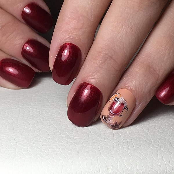 mulled wine nails