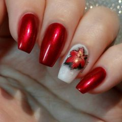 chrome-red-fall-nail-design