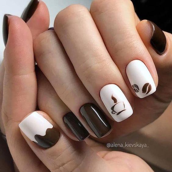 coffee-nail-design