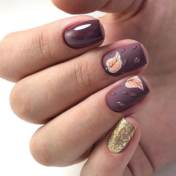 dark-purple-plum-autumn-nail-design