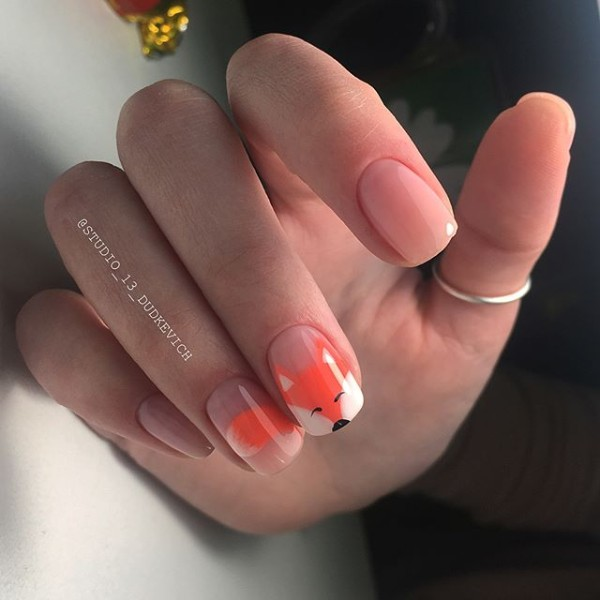 easy-cute-foxy-nail-design