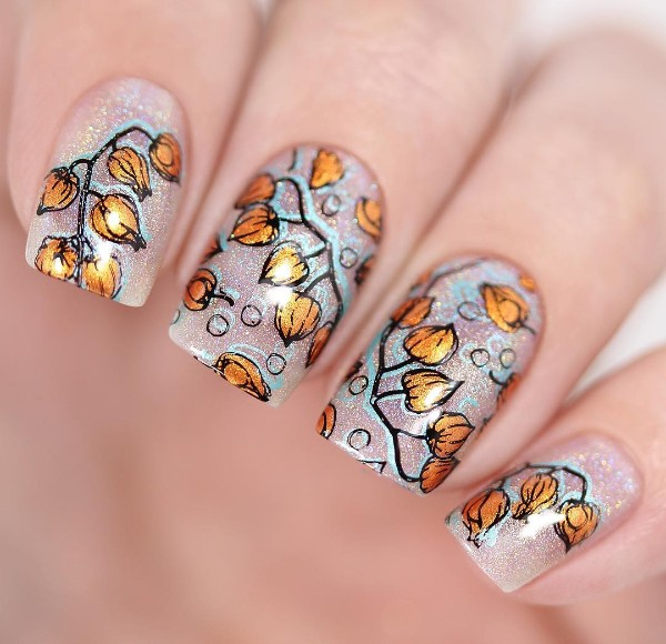 fall-flower-nails