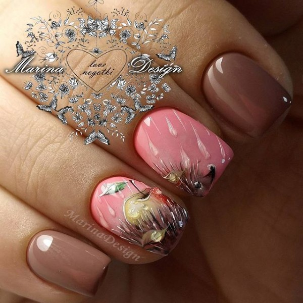 fall-hedgehog-with-apple-manicure