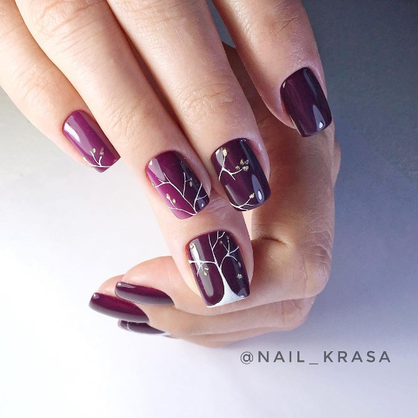 fall-tree-nail-design-plum-purple