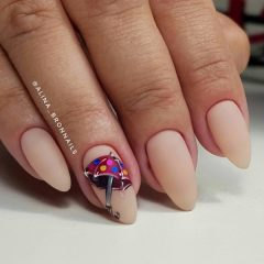 nude-matte-fall-nail-design