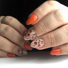 orange-fall-manicure