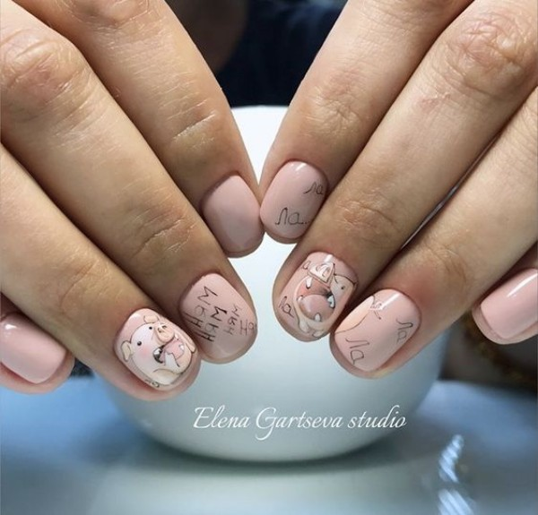 pig-nail-art-design