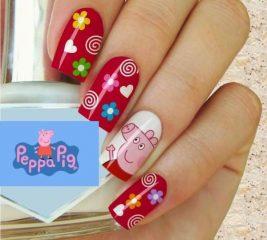pig-peppa-nail-design