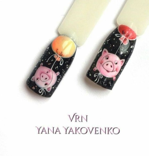 pigs-with-balloons-nail-art