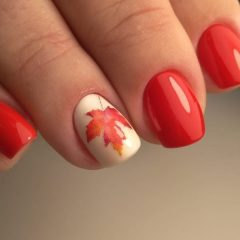 short-autumn-nail-design