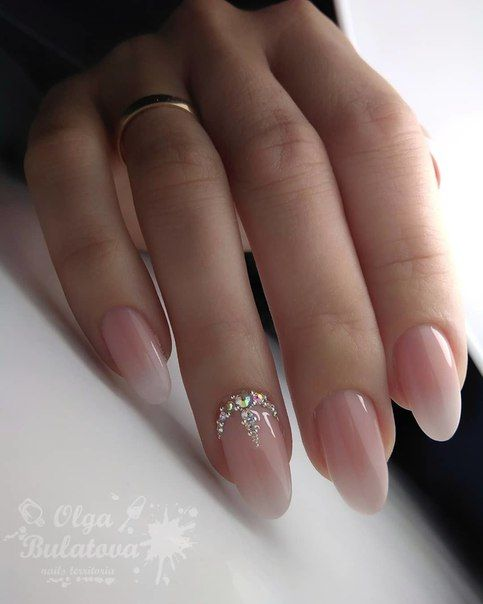 Nude Ombre Nails 40 Beautiful Ideas