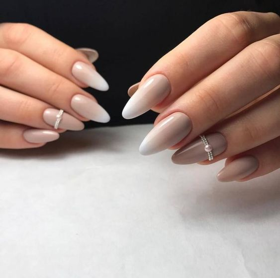 Nude Ombre Nails 40 Beautiful Ideas Nailspiration