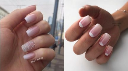 Nude Ombre Nails: 40 Beautiful Ideas