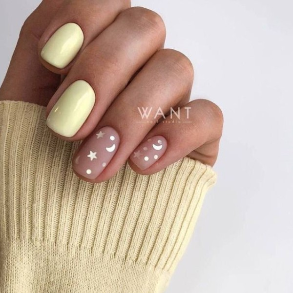 Best And Newest Yellow Nail Designs 2020 Nailspiration