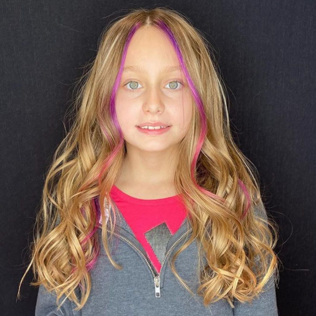 Pink and Blonde Hair Colors for Teenage Girls