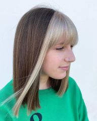 Money Pieces with Bangs for Kids and Teenage Girls
