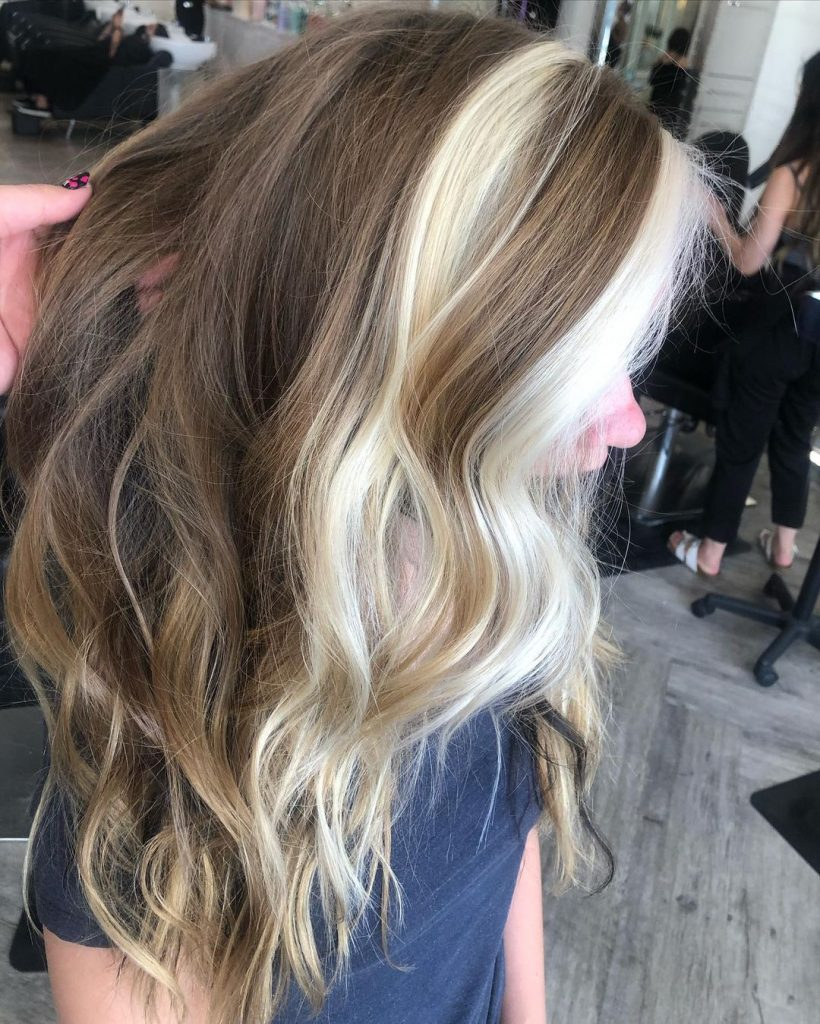 Highlights in Hair for Girls of School Age