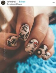 Tattoo Nails