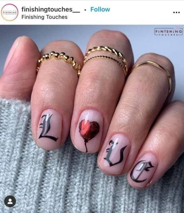 tattoo for nails