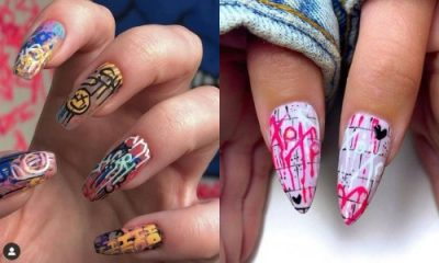 11 Best Graffiti Nail Design Ideas