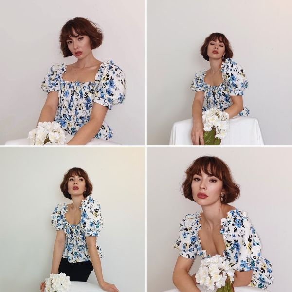 Vintage-Looking French Bob Style