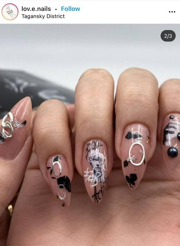 Graffiti Manicure