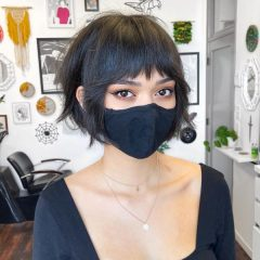 Modern French Bob Cut