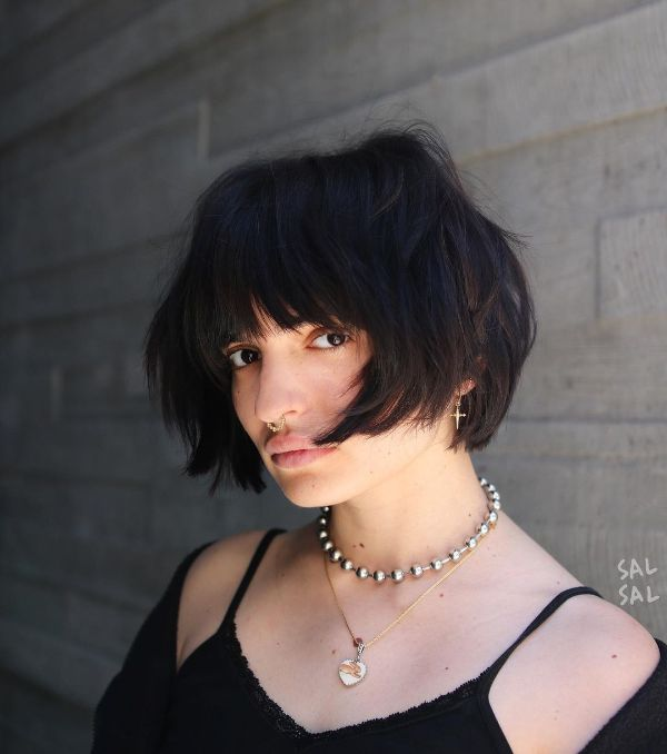French Bob Style for Women