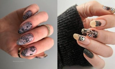 30 Tattoo Nail Designs to Try ASAP