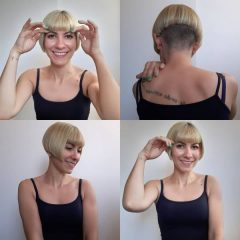 French Bob Bowl Haircut