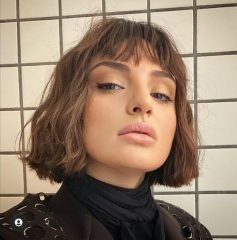 Cool French Bob Haircut