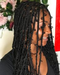 Dark Brown Jungle Braids