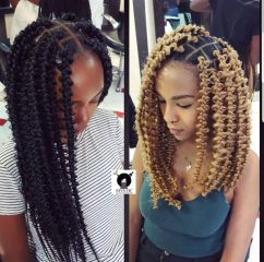 Shoulder Length Jungle Braids